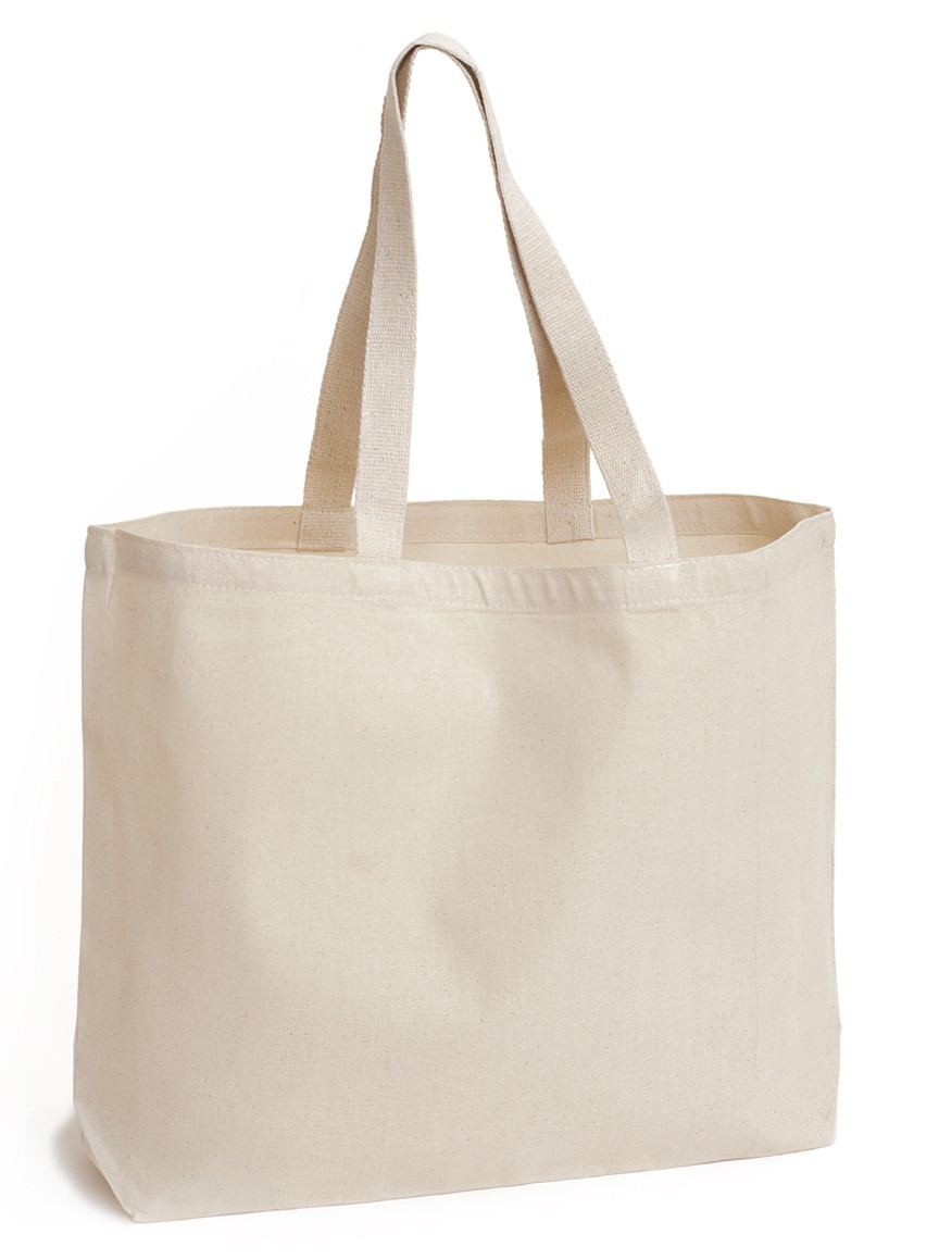 Natural Canvas Tote Bags